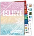 Häfft Smart -  Das Aufgabenheft mit Umschlag [Believe in yourself]