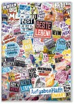 Häfft Smart -  Das Aufgabenheft mit Umschlag Stickermania