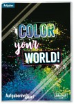 Schulstuff Aufgabenheft Smart A5 [Color your World!]