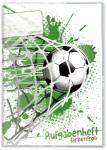 Aufgabenheft Farbenfroh A5 [Fußball]