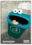 Schulstuff Aufgabenheft Classic A5  30 Wochen Cookie-Monster