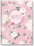 """Trendstuff Notizbuch A5 liniert """"Blütentraum"""""""