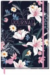 "Trendstuff Journal dotted A5 ""Dark Flower"" 160 Seiten"