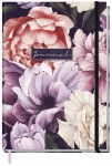 "Trendstuff Journal dotted A5 ""Purple Flower"" 160 Seiten"