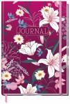 """Trendstuff Journal dotted A5 """"Red Flower"""" 160 Seiten"""