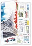 Stickerbogen Vokabel-Häfft Französisch