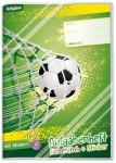 Aufgabenheft Farbenfroh Sticker A5  [Fußball NEU]
