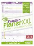 FamilienPlaner XXL 2020 Wandkalender 12 Monate