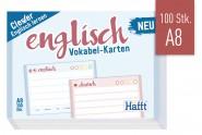 Vokabel-Karten Englisch 100 Stück A8
