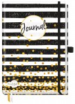Trendstuff Journal Premium dotted A5 Black & White