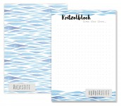 Trendstuff Block A6 Aquarell Notizen
