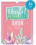 A4+ Bastelkalender 2020 Aquarell