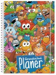 Lernfreunde Grundschul-Planer A5 Premium mit Sticker