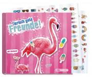 Freundebuch tierisch gute Freunde [Flamingo]