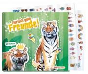 Freundebuch tierisch gute Freunde Tiger