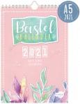 A5+ Bastelkalender Aquarell 2021