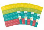 Stickerbogenset Lehrer-Planer (8 Bögen)