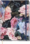 Trendstuff Notizbuch Classic kariert A5+ [Geoflowers]