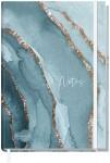Trendstuff Notizbuch Classic kariert A5+ [Watercolor Waves]