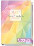 Family-Timer A5 2021/2022 Jul 21 - Dez 22 [Rainbow]