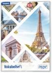 Schulstuff Vokabelheft Premium A5 mit Schutzumschlag [Eiffelturm]