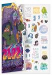 Stickerbogen Häfft Planer 2021/2022