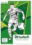 Lernfreunde Oktavheft A6 liniert [Fußball]
