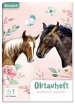 Lernfreunde Oktavheft A6 liniert [Pferde]
