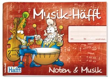 Musik-Häfft A5 (Querformat)