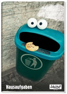 Schulstuff Aufgabenheft Basic Cookie Monster