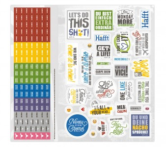 Sticker für Vokabel-Häfft Universal